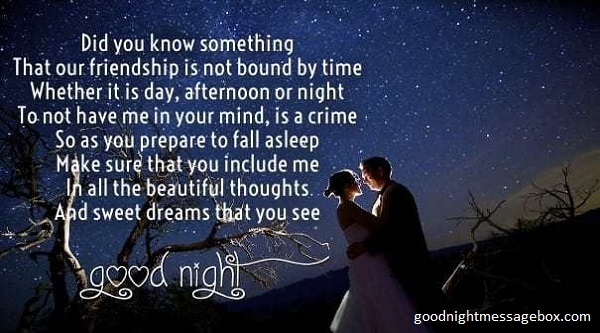 short good night poems