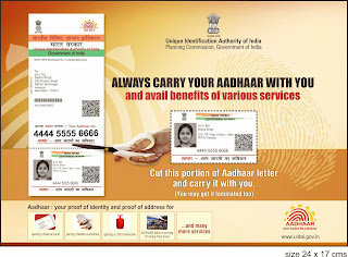AADHAR Card Documents Required