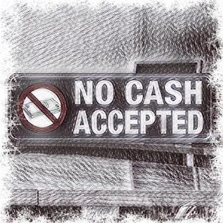 contanti non accettati