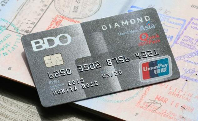 BDO UnionPay Card