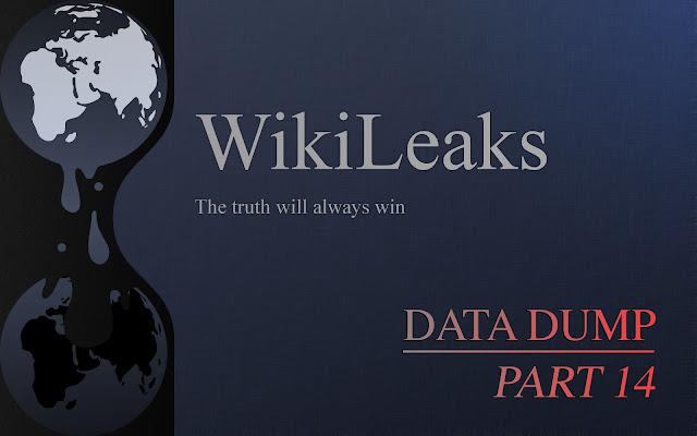 WIKILEAKS  RELEASE UPDATES Wikileaks%2BOctober%2BSuprize%2BData%2BDumps%2Bpart%2B14
