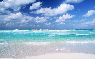 Landschap met strand