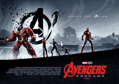 Odeon Exclusive Avengers: Endgame Movie Posters by Matt Ferguson x Marvel