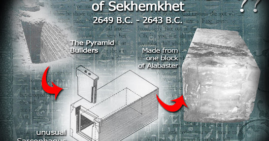 Investigating All Mysteries of Ancient Egypt: Mysterious Sarcophagus of Sekhemkhet 2649 B.C. - 2643 B.C.
