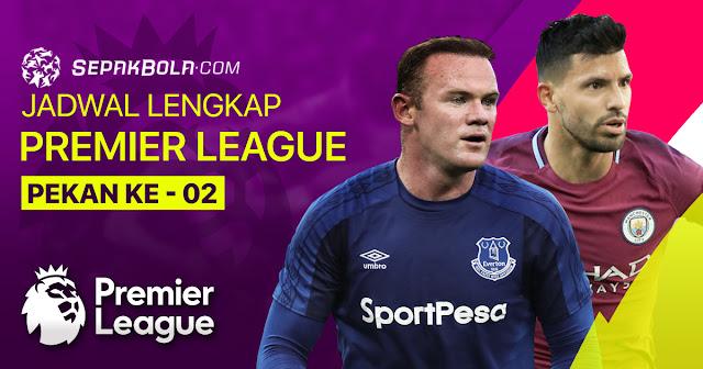 Jadwal Bola Liga Inggris Malam Ini, Pekan Ke-2