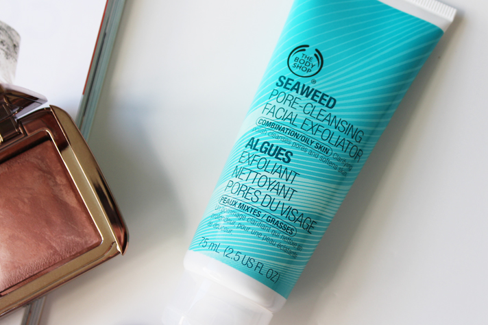 MOST LOVED // December '14 - Body Shop Seaweed Exfoliator - CassandraMyee