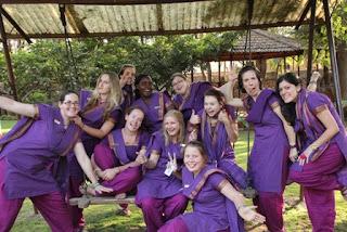 Sangam World Centre Volunteers