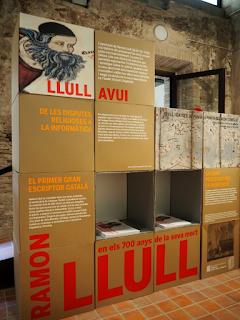 Exposició: La desmesurada vida de Ramon Llull en els 700 anys de la seva mort (1316-2016) per Teresa Grau Ros