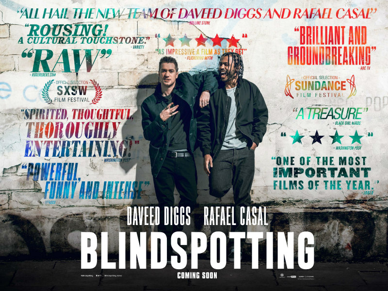 blindspotting uk poster