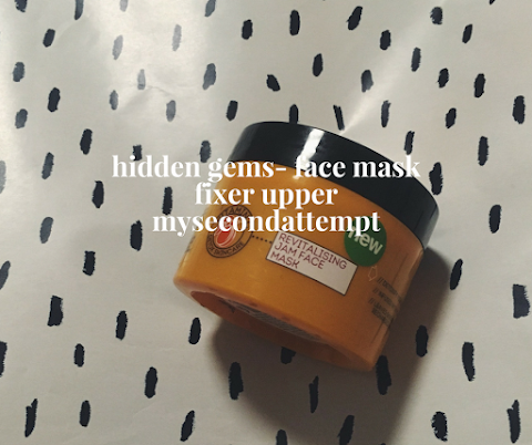 Hidden Gems- Face Mask Fixer Upper