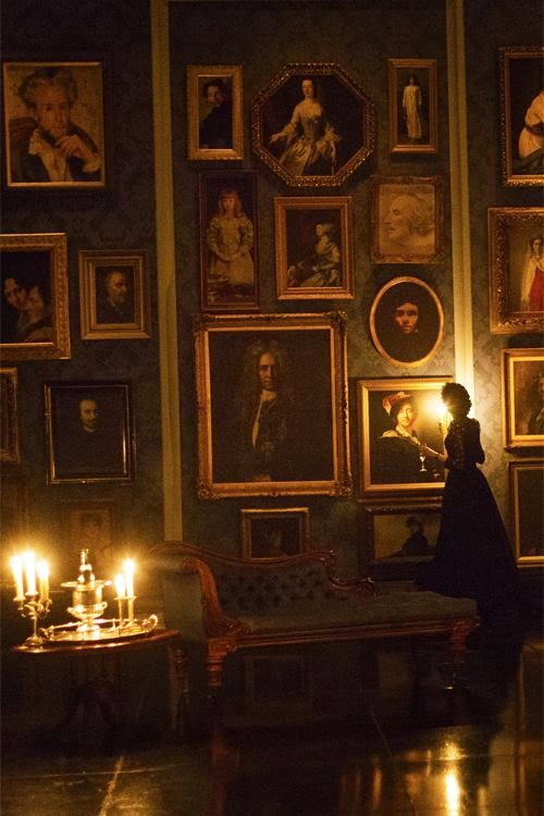 David Dangerous Penny Dreadful Interiors