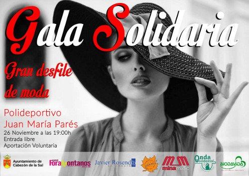 Gala Solidaria: Gran desfile de moda en Cabezón de la Sal