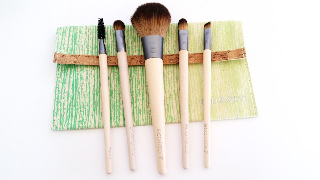 5 brushes and 1 pouch