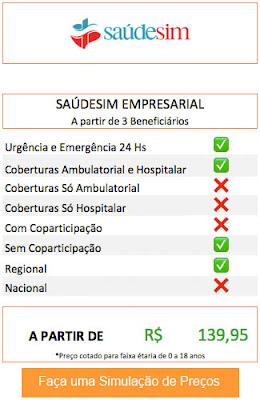 Planos de SaúdeSim Empresarial