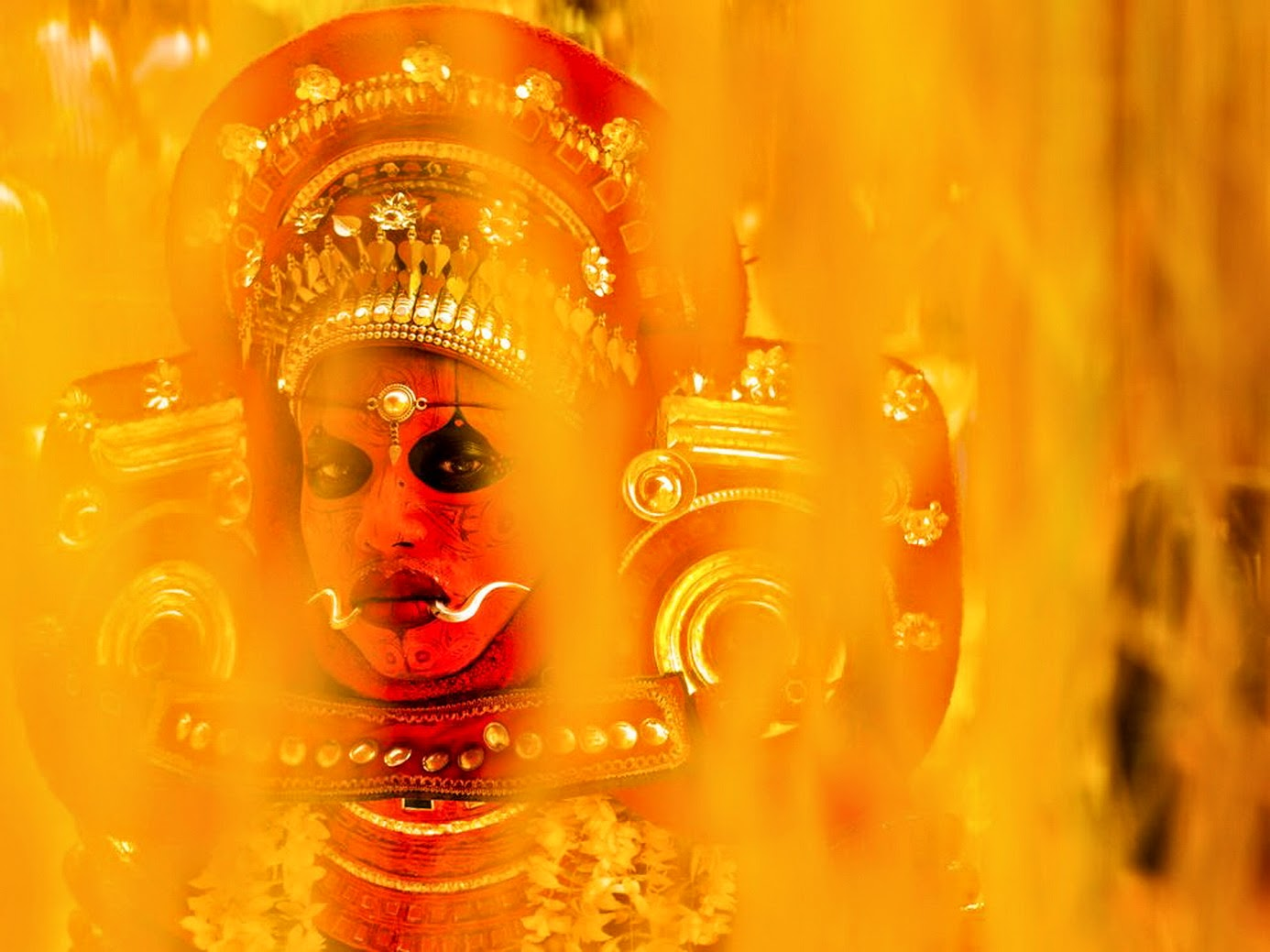 Theyyam Vishnumoorthi images wallpapers