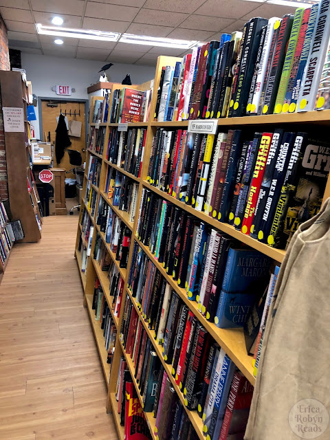 Wicked Good Books in Salem, MA $5 hardcover section