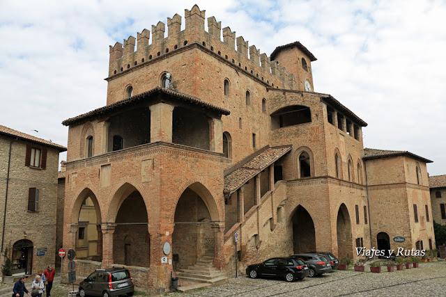 Palacio del Podestà,Castell'Arquato