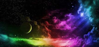 Chaque étoile est visible car elle brille dans la noirceur
