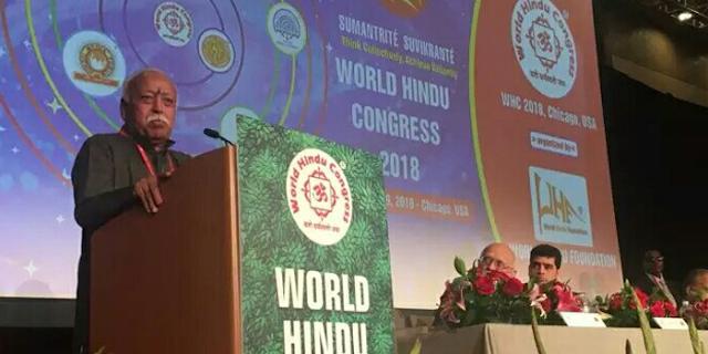 हिंदू अपने मूल सिद्धांतों का पालन करना भूल गए हैं: भागवत | Vishwa Hindu Sammelan News
