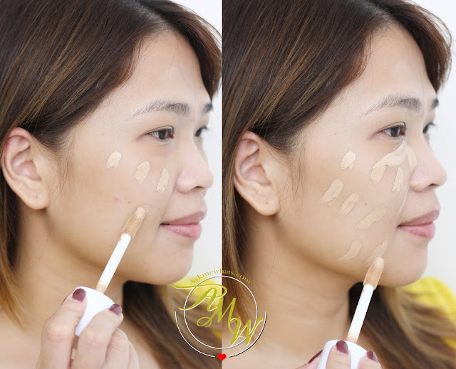 a photo of Etude House Big Cover Concealer BB Review