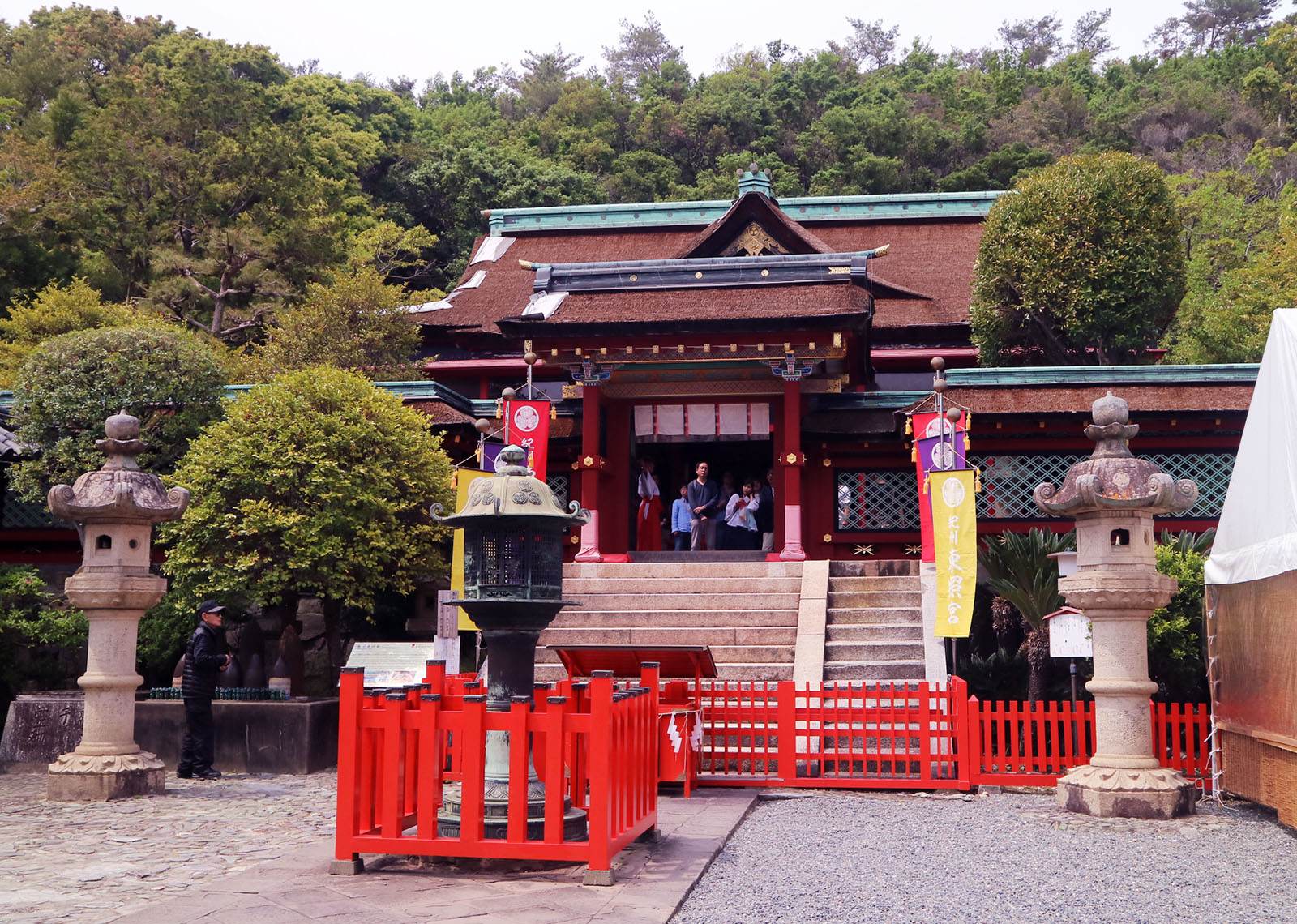 Temple Lodging at Mount Koya