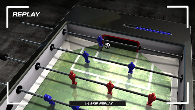 Screenshot from Foosball: World Tour