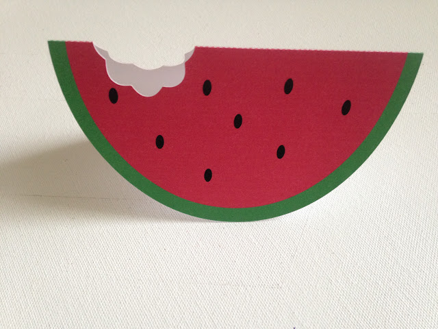 Silhouette Studio, free cut file, watermelon card, Silhouette Cameo