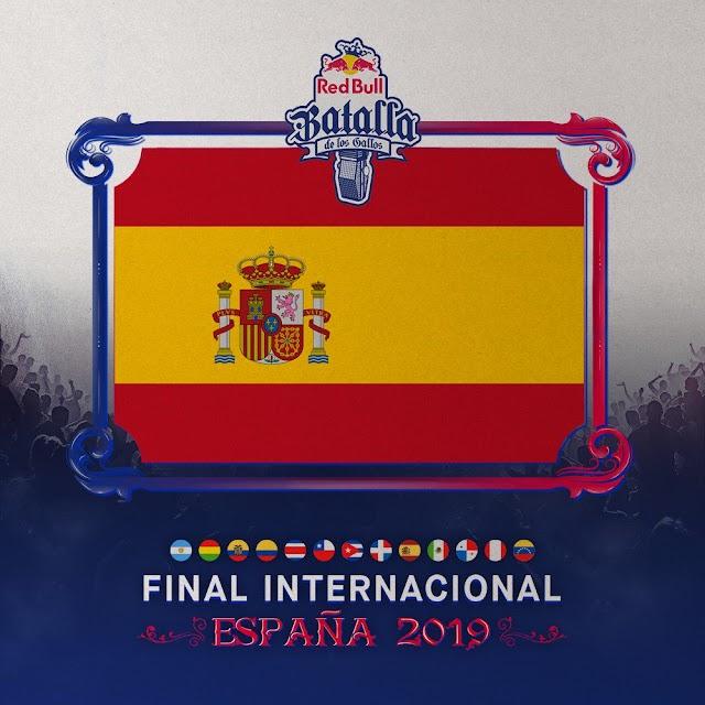 ¿Quiénes son los 12 clasificados para la Final Internacional de Red Bull Batalla de los Gallos 2019?