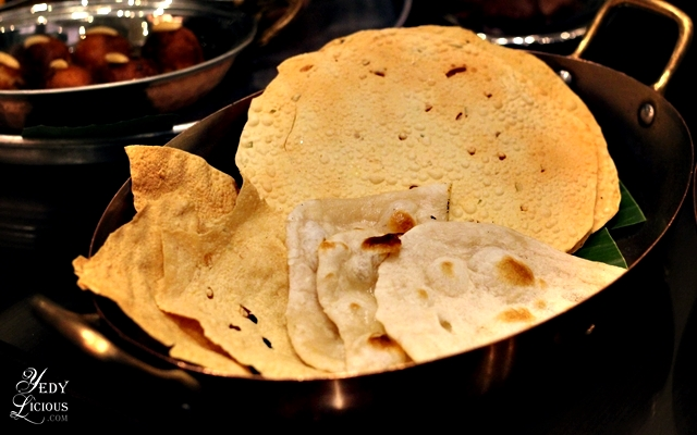 Indian Breads, Indian Food Buffet at HYATT COD Manila