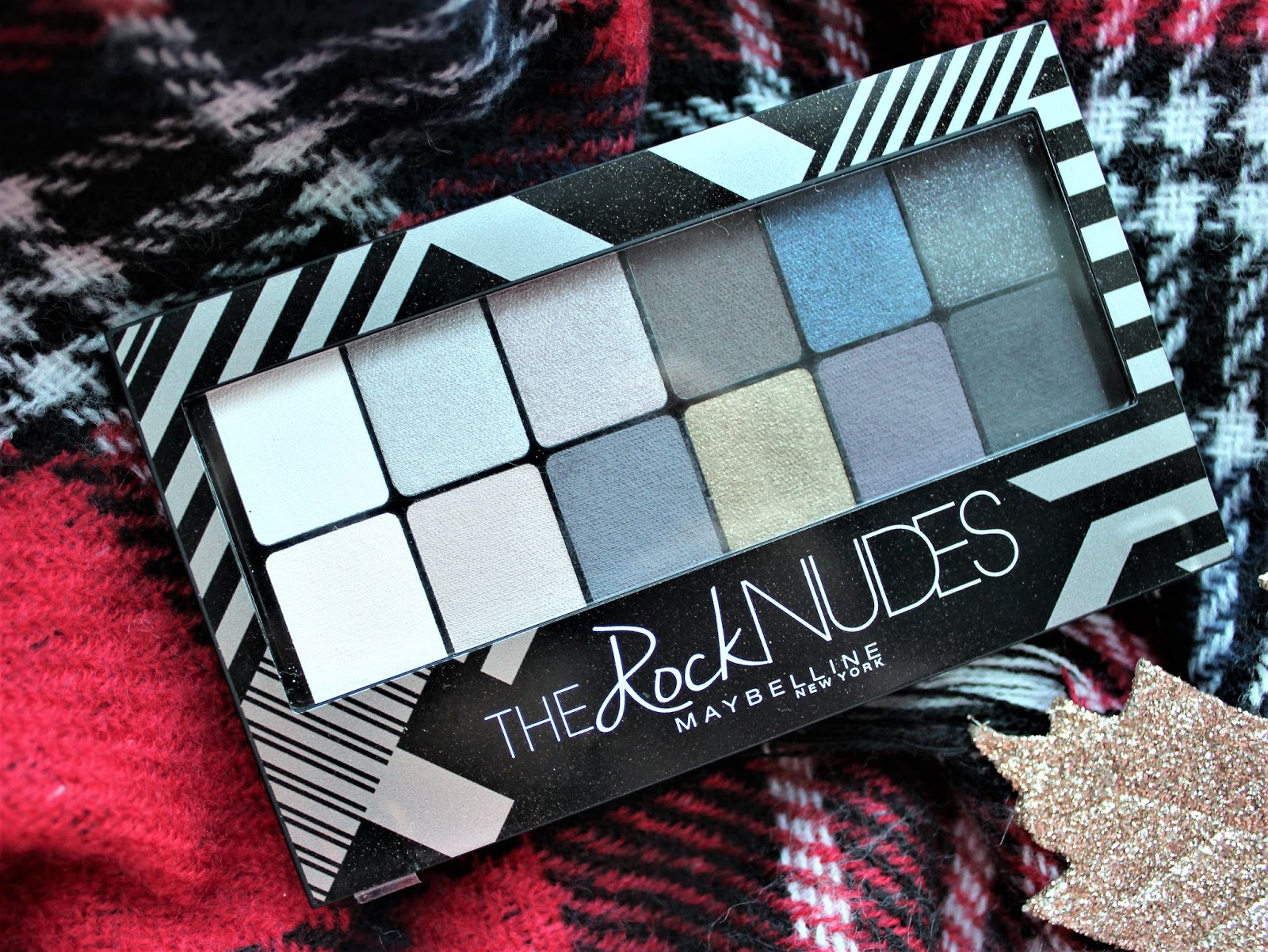 maybelline the rock nudes palette review