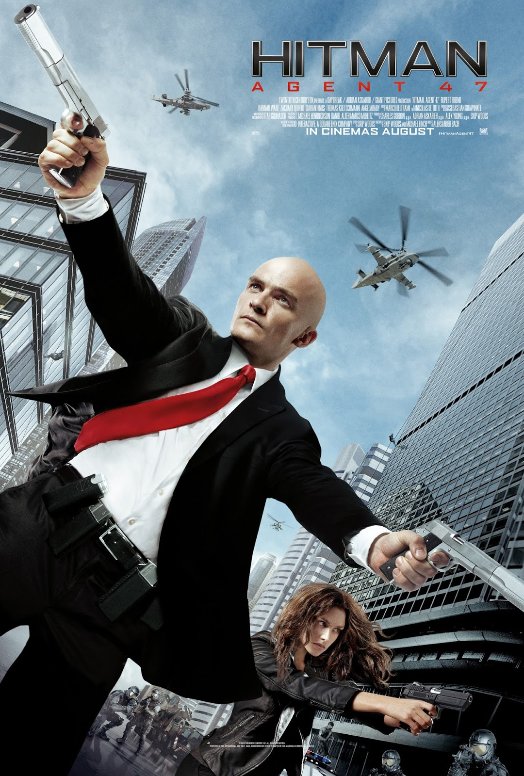 Capa do Filme Hitman: Agente 47