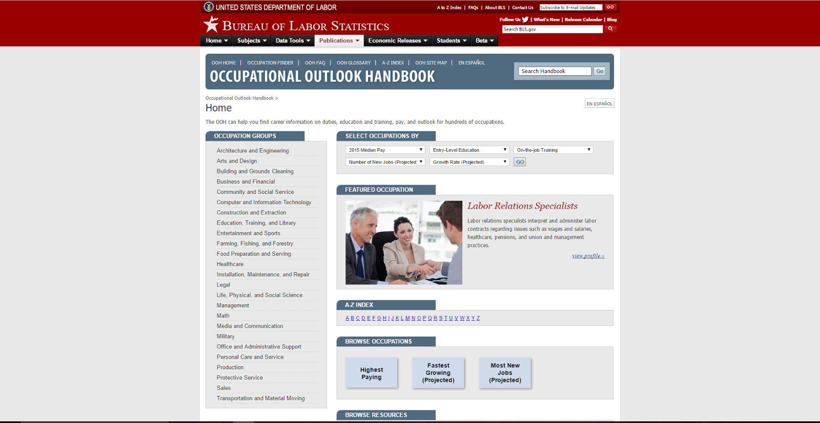vapual lennak occupational outlook handbook ziang degree na duh