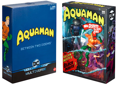 San Diego Comic-Con 2018 Exclusive DC Comics Multiverse Aquaman Between Two Dooms Action Figure 3 Pack by Mattel