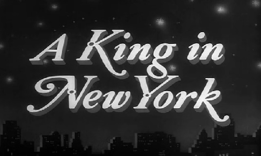 A King in New-York