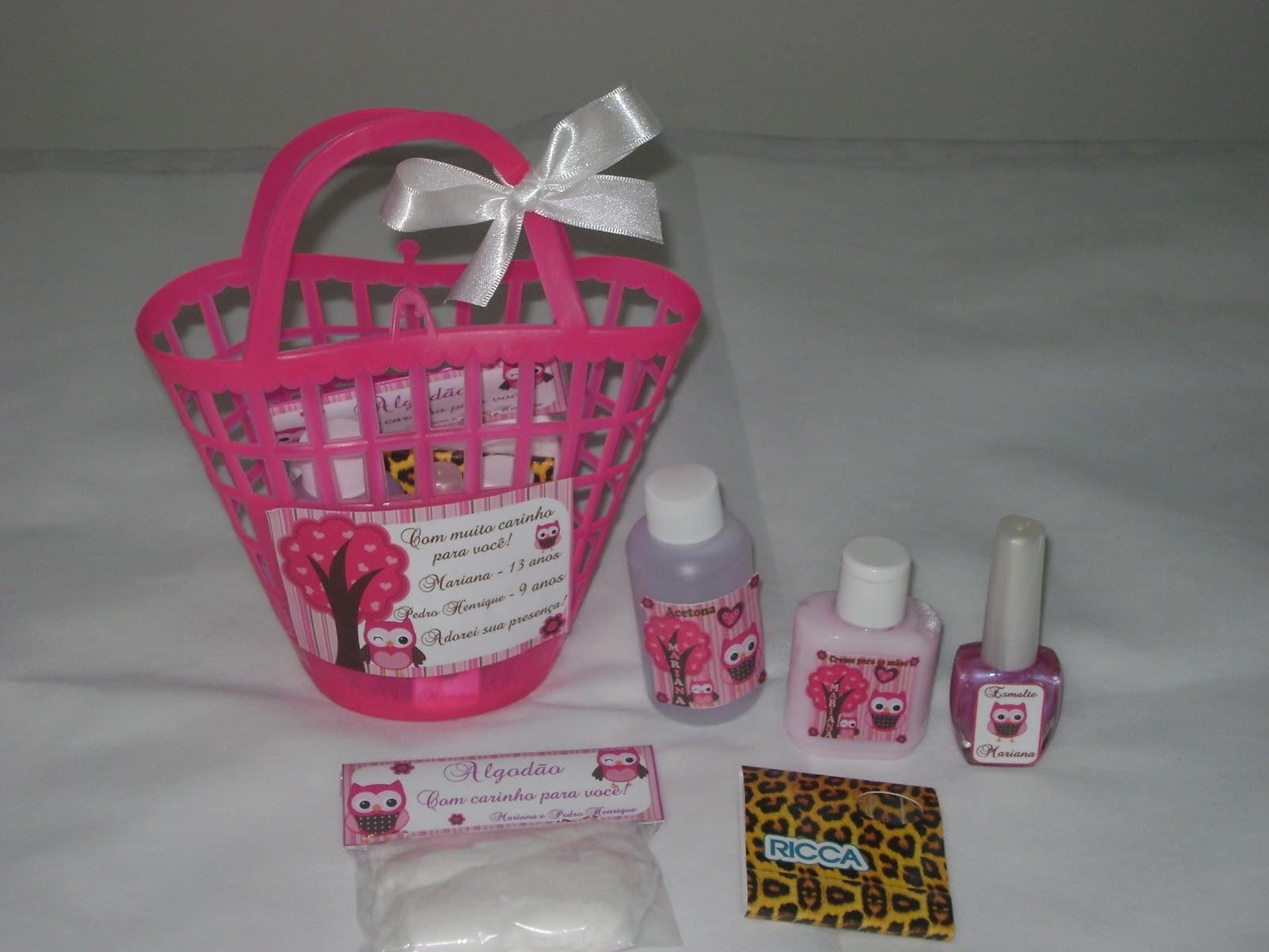 Silmara Lembrancinha Kit Manicure Personalizado
