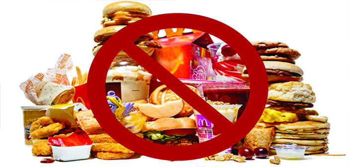 No Processed Food to Reduce Weight Naturally