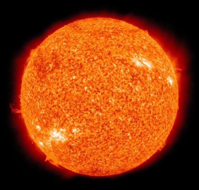 the sun i space