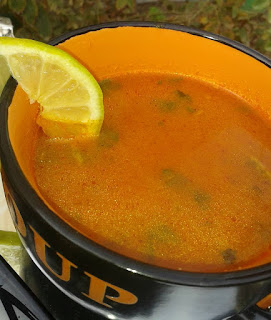 Recette du soupe d'orge au poisson