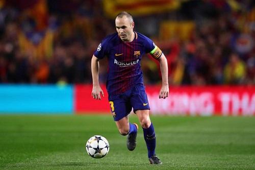 Cầu thủ Iniesta bày tỏ mong muốn rời khỏi câu lạc bộ Barcelona