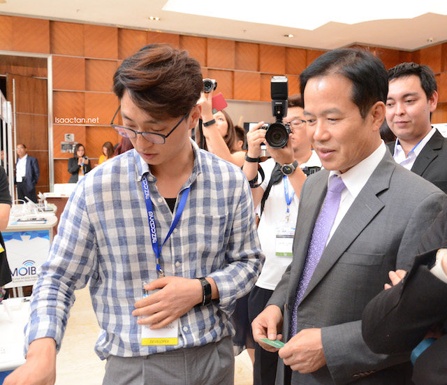 The mobile app developer had a chance to showcase their app to The Ambassador of Korea to Malaysia H.E Cho Byung Jae 조병제