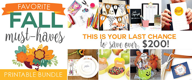 Fall Favorites Printables Bundle