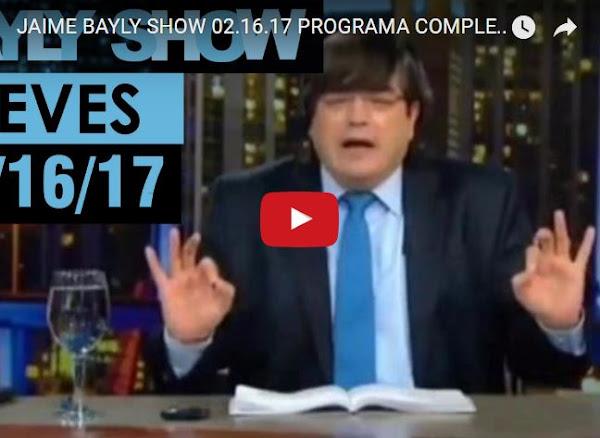 Jaime Bayly comenta el bloqueo de CNN en Venezuela
