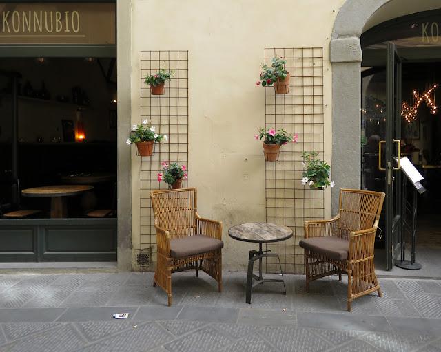 Konnubio restaurant, Via dei Conti, Florence