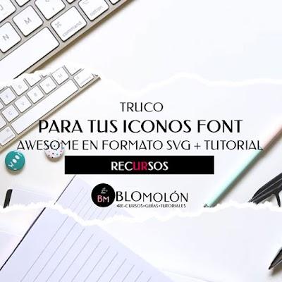 Truco Para Tus Iconos Awesome En Formato SVG + Tutorial