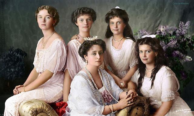 Последние фотографии царской семьи Романовых
