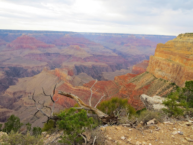From Lipan Point you can access some beautiful areas at the Grand Canyon