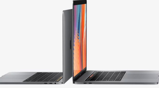 Apple Macbook Pro 13 2017 portas usb c thunderbolt 3