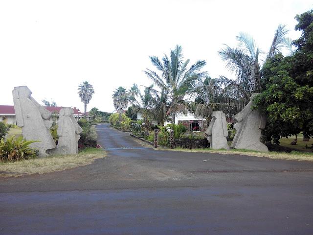 Hotel, en la calle Policarpo Toro, Isla de Pascua