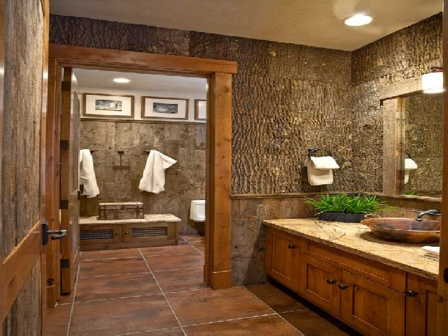 Rustic Bathroom Designs: Modernodemerda: August 2014