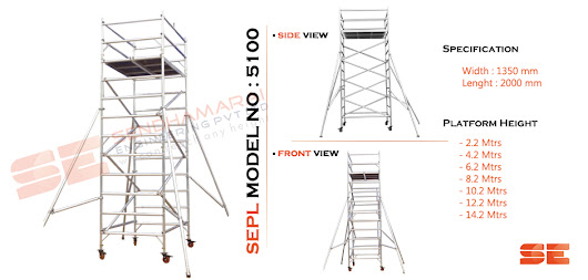 Mobile Tower Scaffolding – Manufacture and supplier in Chennai Bangalore Hyderabad Pune Ahmedabad Delhi